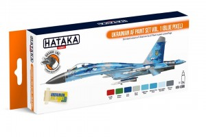 Ukrajinské letectvo 1 (Ukrainian AF vol. 1) - CS96