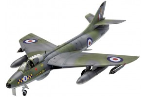 Model Set letadlo 63908 - 100 Years RAF: Hawker Hunter FGA.9 (1:72)