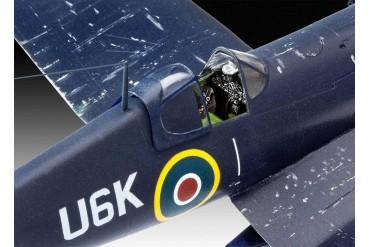 Plastic ModelKit letadlo 03917 - F4U-1B Corsair Royal Navy (1:72)