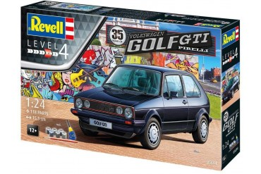 Gift-Set auto 05694 - 35 Years VW Golf 1 GTi Pirelli (1:24)