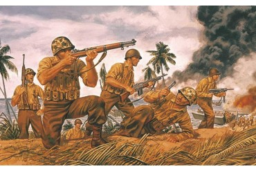 Classic Kit figurky A00716 - WWII US Marines (1:72)