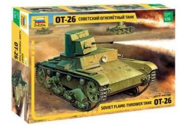 Model Kit tank 3540 - T-26 Flamethrower  (re-release) (1:35)