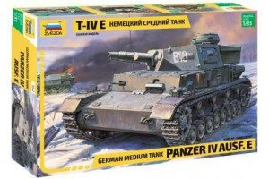 Model Kit tank 3641 - Panzer IV Ausf.E (1:35)