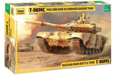 Model Kit tank 3675 - T-90 MS Russian MBT (1:35)