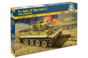 Model Kit tank 6557 - PzKpfw VI Tiger Ausf.E Early Prod. (1:35)