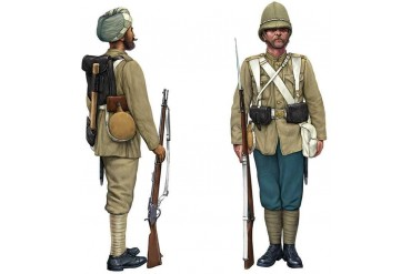 Model Kit figurky 6187 - British Infantry and Sepoys (1:72)
