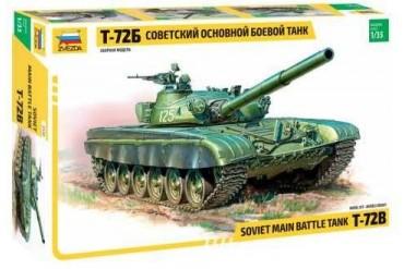 Model Kit tank 3550 - T-72B Soviet MBT  (re-release) (1:35)