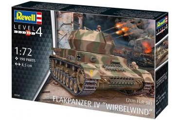Plastic ModelKit military 03267 - Flakpanzer IV Wirbelwind (2 cm Flak 38)  (1:72)