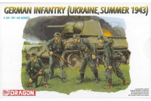 Model Kit figurky 6153 - German Infantry (Ukraine, Summer 1943) (1:35)