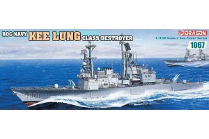 Model Kit loď 1067 - Roc Navy Kee Lung Class Destroyer (1:350)