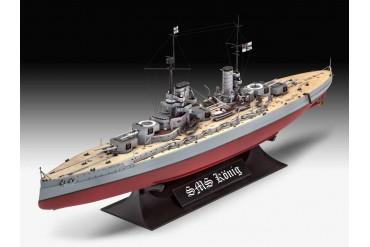 Plastic ModelKit loď 05157 - WWI Battleship SMS KÖNIG (1:700)