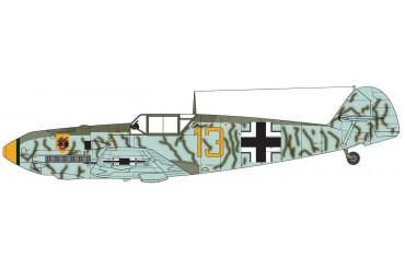 Classic Kit letadlo A01008A - Messerschmitt Bf109E-4 (1:72)