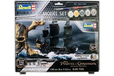 EasyClick ModelSet loď 65499 - Black Pearl (1:150)