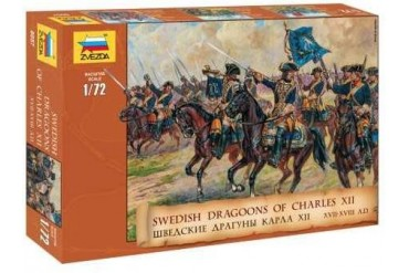 Model Kit figurky 8057 - Swedish Dragoons  (re-release) (1:72)