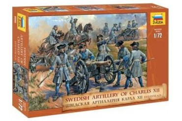 Model Kit figurky 8066 - Swedish Artillery  (re-release) (1:72)