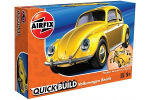 Quick Build auto J6023 - VW Beetle - žlutá
