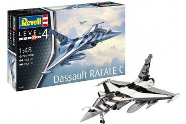 Plastic ModelKit letadlo 03901 - Dassault Rafale C (1:48)