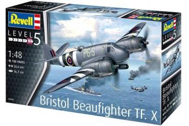 Plastic ModelKit letadlo 03943 - Bristol Beaufighter TF. X (1:48)