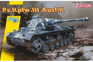 Model Kit tank 6903 - Pz.Kpfw.III Ausf.K (Smart Kit) (1:35)