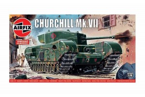 Classic Kit VINTAGE tank A01304V - Churchill Mk.VII (1:76)