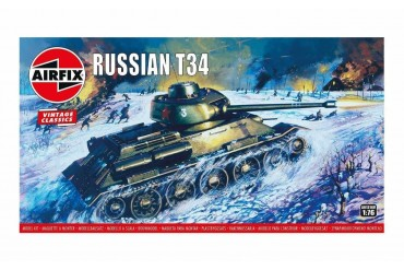 Classic Kit VINTAGE tank A01316V - Russian T34 Medium Tank (1:76)