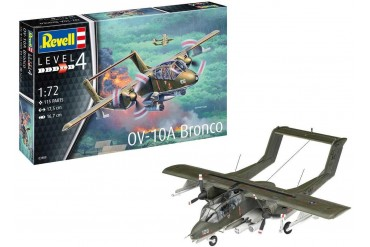 Plastic ModelKit letadlo 03909 - OV-10A Bronco (1:72)
