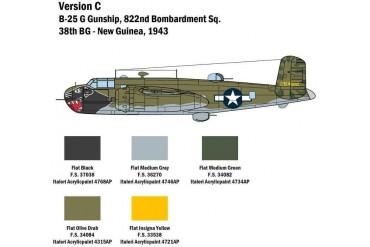 Model Kit letadlo 2787 - B-25G Mitchell (1:48)