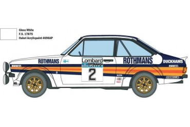 Model Kit auto 3650 - Ford Escort RS1800 MK.II Lombard RAC Rally (1:24)