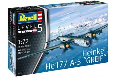 Plastic ModelKit letadlo 03913 - Heinkel He177 A-5 Greif (1:72)