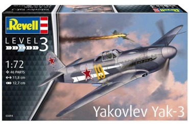 Plastic ModelKit letadlo 03894 - Yakovlev Yak-3 (1:72)