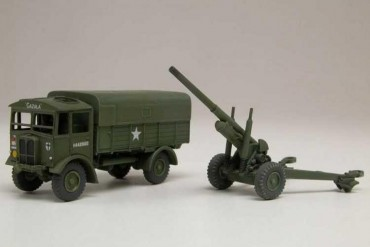 "Classic Kit VINTAGE military A01314V - AEC Matador & 5.5"" Gun (1:76)"