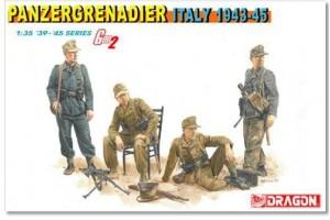 Model Kit figurky 6348 - PANZERGRENADIER (ITALY 1943-45) (1:35)