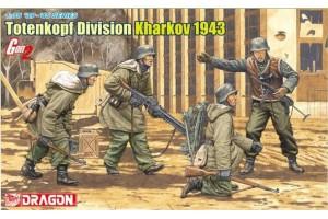Model Kit figurky 6385 - Totenkopf Division (Kharkov 1943) (1:35)