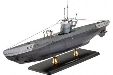 Plastic ModelKit ponorka 05155 - German Submarine Type IIB (1943) (1:144)