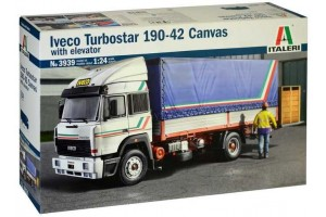 Model Kit truck 3939 - IVECO Turbostar 190-42 Canvas (1:24)