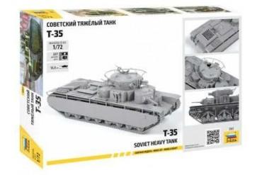 Model Kit tank 5061 - Soviet Heavy Tank T-35 (1:72)