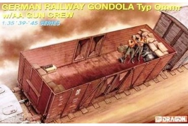 Model Kit vagón 6086 - GERMAN RAILWAY GONDOLA (1:35)