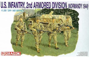 Model Kit figurky 6120 - U.S. INFANTRY (1:35)