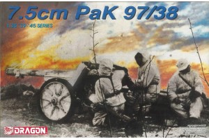 Model Kit military 6123 - 7.5cm PaK 97/38 (1:35)