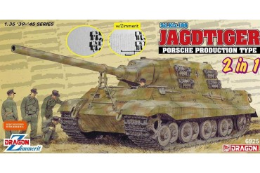 Model Kit tank 6925 - Jagdtiger Porsche Production (2 in 1) (1:35)