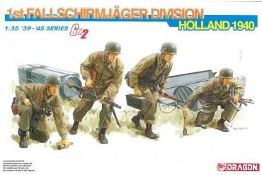 ModelKit figurky 6276 - 1st FALLSCHIRMJÄGER DIVISION (HOLLAND 1940) (GEN2) (1:35)