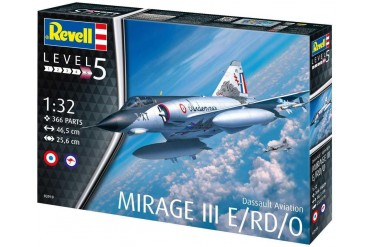 Plastic ModelKit letadlo 03919 - Dassault Mirage III E  (1:32)
