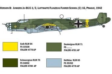 Model Kit letadlo 1391 - JU 86 E1/E2 (1:72)