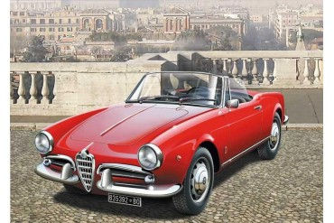 Model Kit auto 3653 - ALFA ROMEO GIULIETTA SPIDER 1300 (1:24)