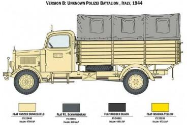 Model Kit military 6558 - Mercedes-Benz L3000 S (1:35)