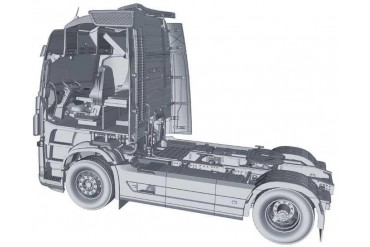 Model Kit truck 3940 - VOLVO FH4 GLOBETROTTER XL (1:24)