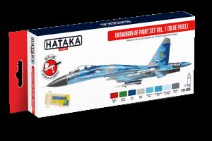 Ukrajinské letectvo Blue Pixel 1 (Ukrainian AF paint set vol. 1 (Blue Pixel)) - AS96