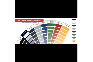 Základní modelářské barvy - AS100