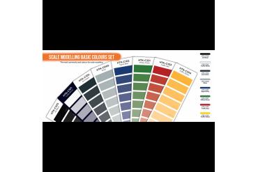 Základní modelářské barvy - CS100