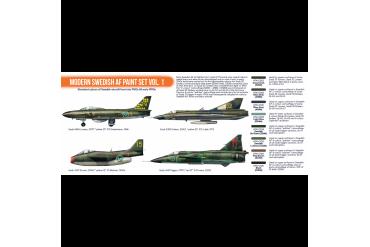 Moderní švédské letectvo 1 (Modern Swedish AF vol. 1) - CS101
